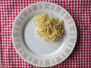 pasta serving size
