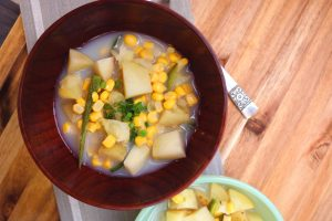 Slow-Cooker Potato, Corn, and Jalapeno Soup