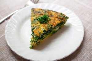 Oven Spinach Frittata