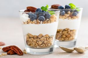Yogurt Crunch Parfait